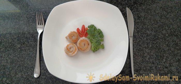 Как красиво и без панировки приготовить белую рыбу пангасиус как в ресторане