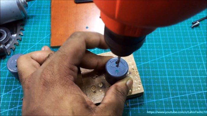 Ручная дисковая пила по дереву из ПВХ труб своими руками