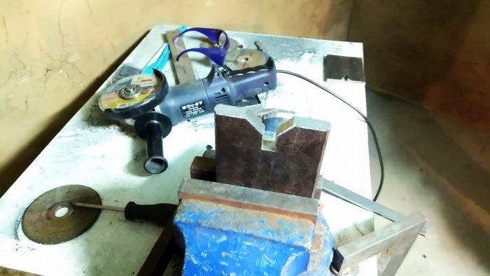 Как сделать необычные ножницы для резки стального квадрата