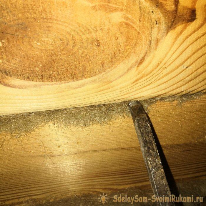 Грамотная конопатка деревянного дома своими руками