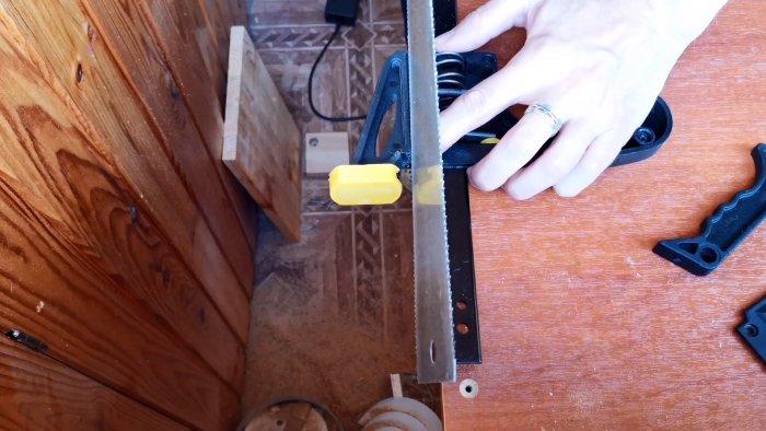 Как сделать базу для кондуктора косой шуруп