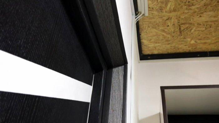 Как из остатков ламината сделать откосы окна или двери и прилично сэкономить