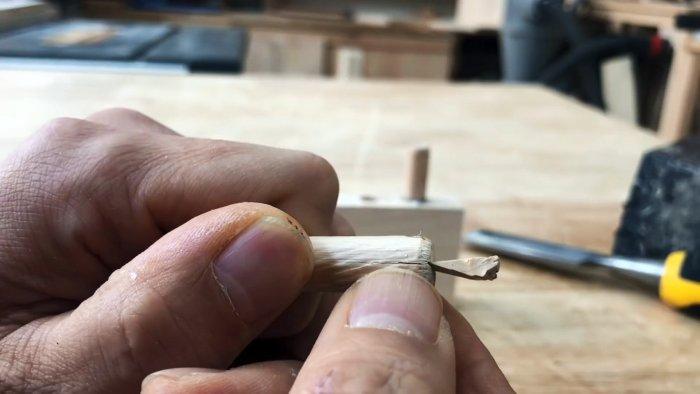 Как крепить шканты в древесине по принципу анкеров в бетоне
