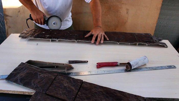Как сделать штамп для печатного бетона