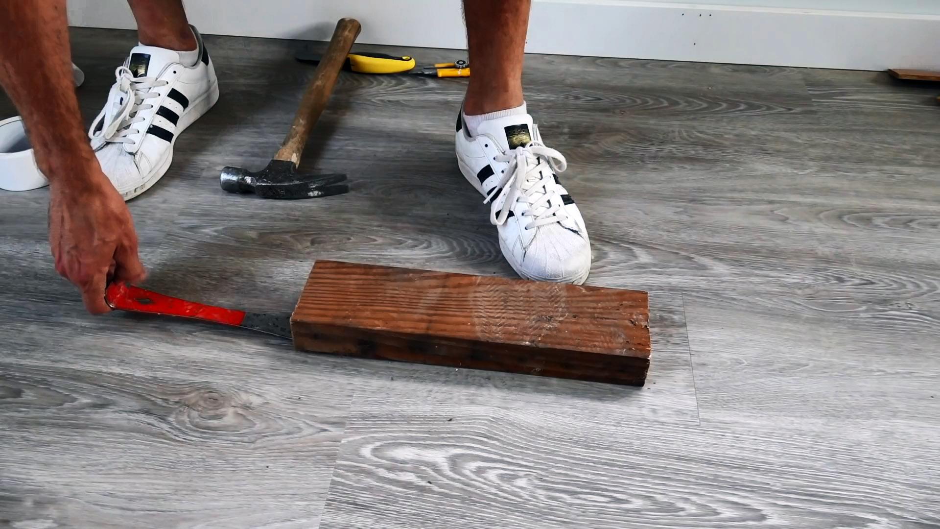 Как убрать зазоры на ламинате без демонтажа