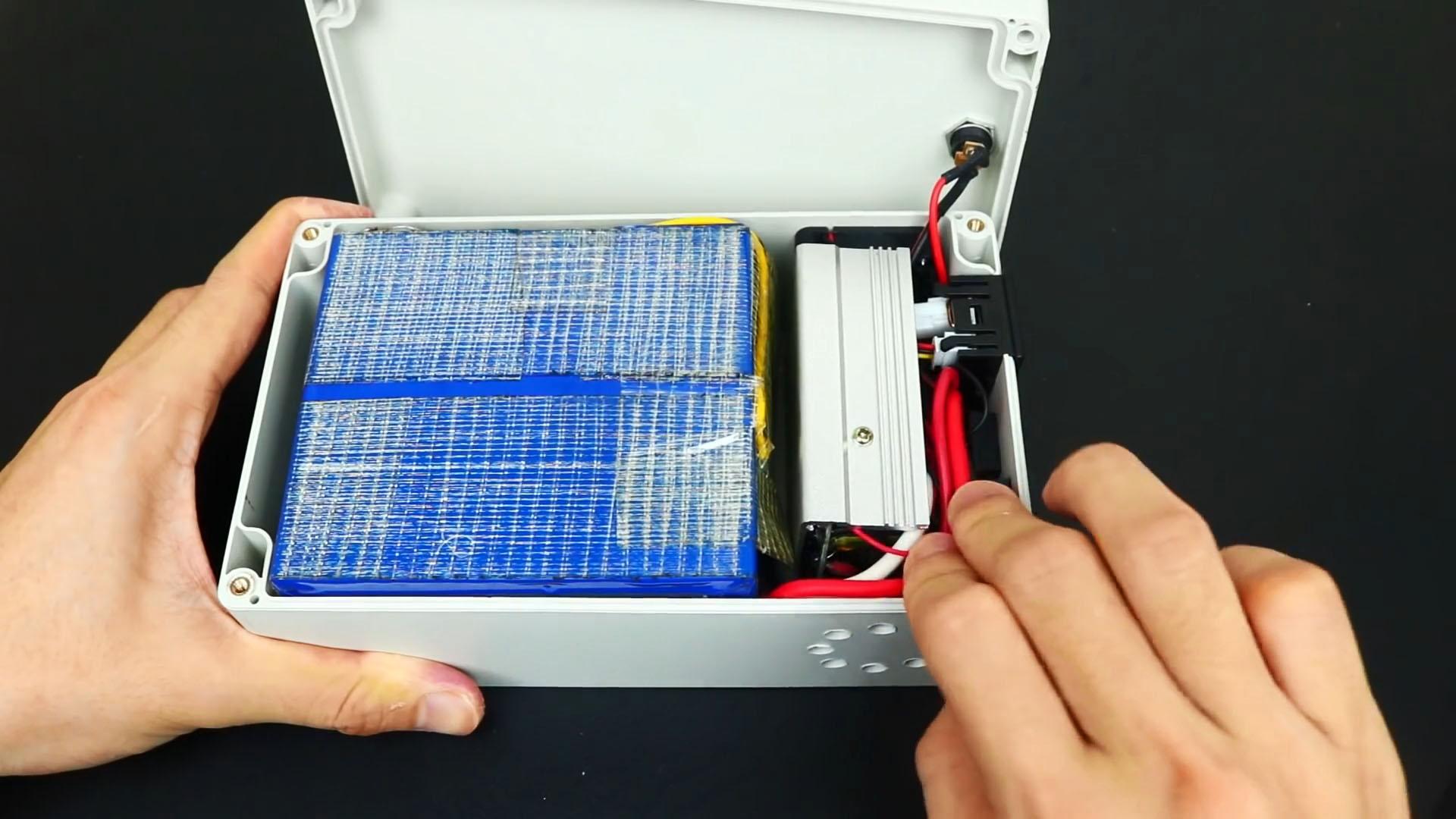 Как сделать аккумулятор на 220 В 50 Гц