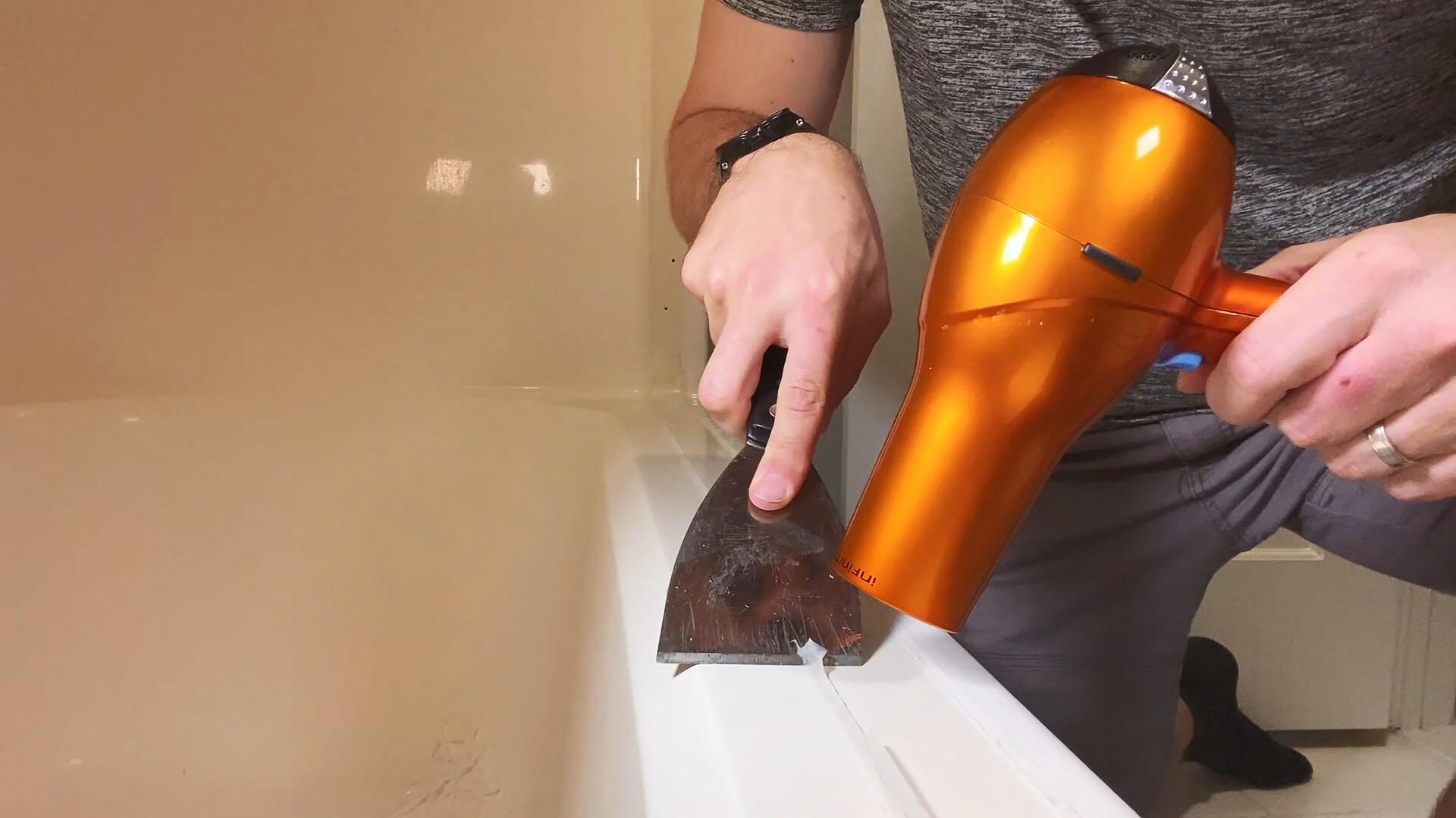 Как легко удалить силиконовый герметик
