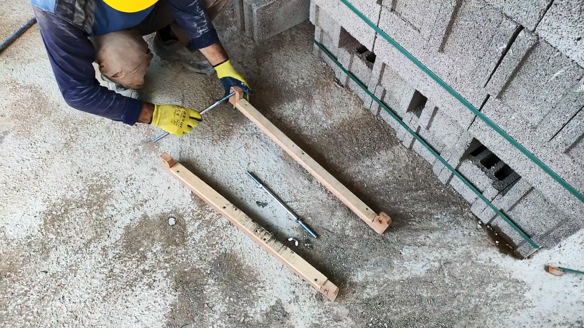 Шаблон каменщика для кладки своими руками. Повысит качество и сбережет силы