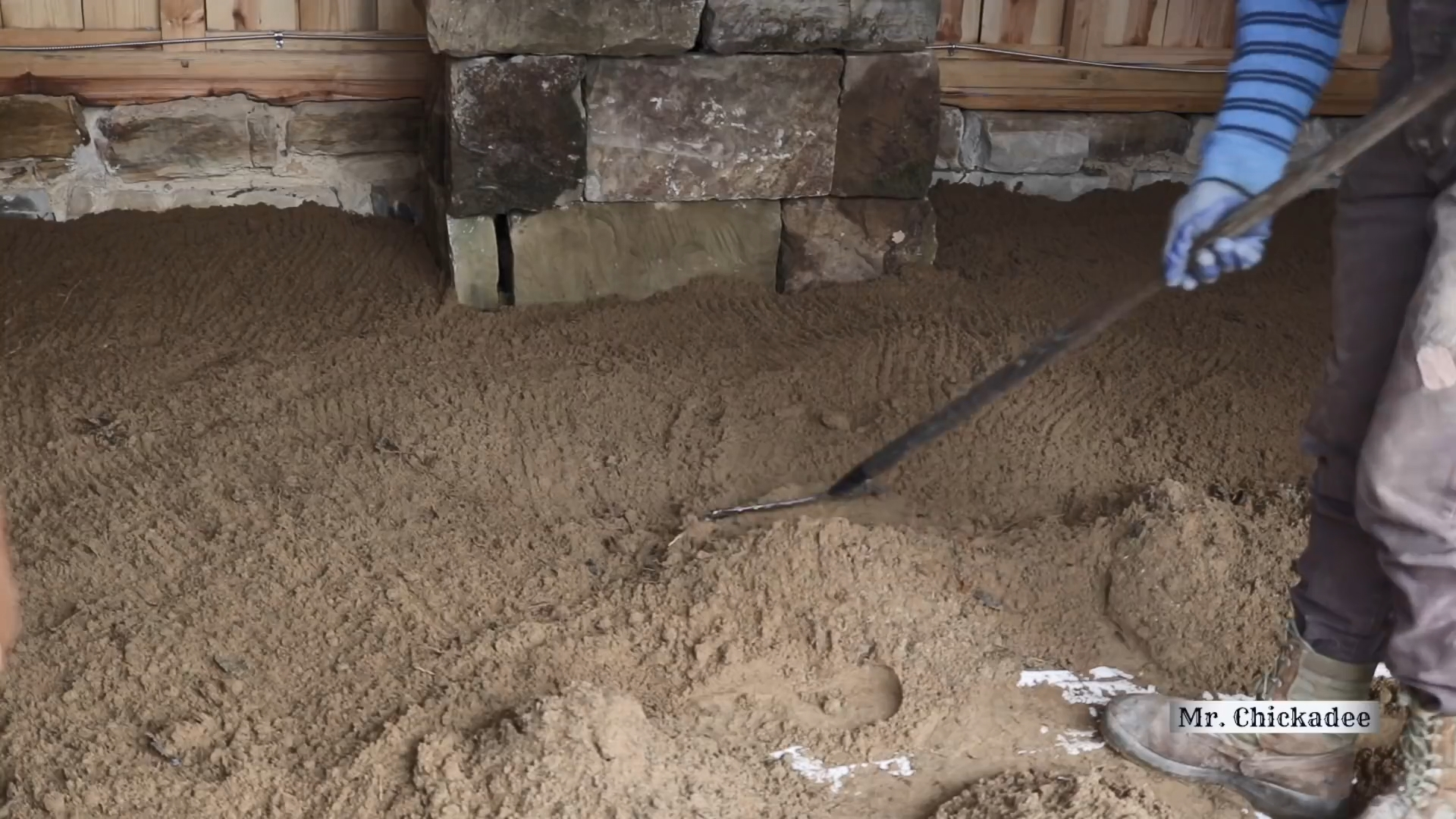 Как сделать пол в мастерской из деревянных брусков