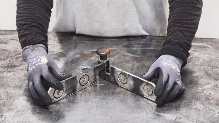 Как сделать магнитный держатель для сварки под любым углом который не купить в магазине