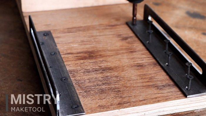 Как сделать простейший точильно-шлифовальный станок на базе дрели