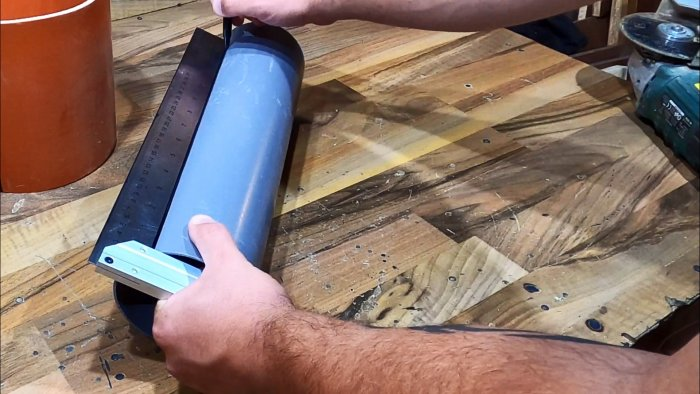 Как сделать лист из ПВХ трубы и использовать для своих самодельных проектов