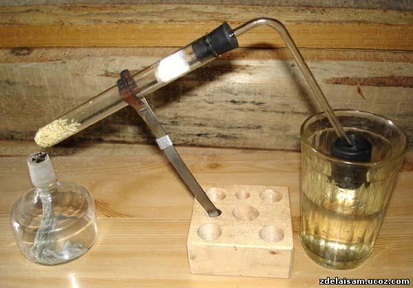 Как сделать серная кислоту в домашних условиях 619