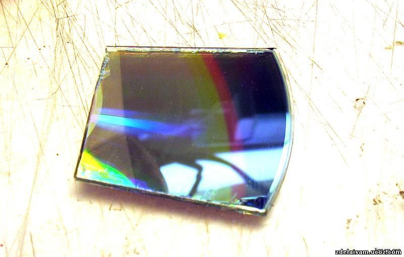Дифракционный фильтр своими руками