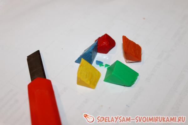 Большие поделки из пластика
