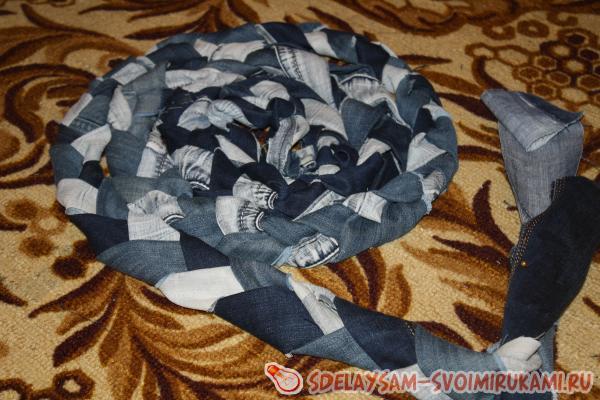 Модный тренд: джинсовый стиль в интерьере, часть 2 стены