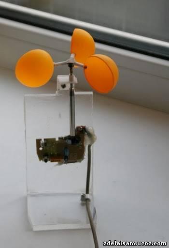 Анемометр своими руками из мышки 558
