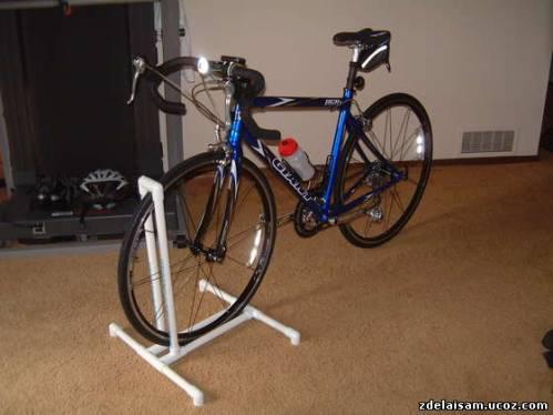 Стойка для велосипедов своими руками 12
