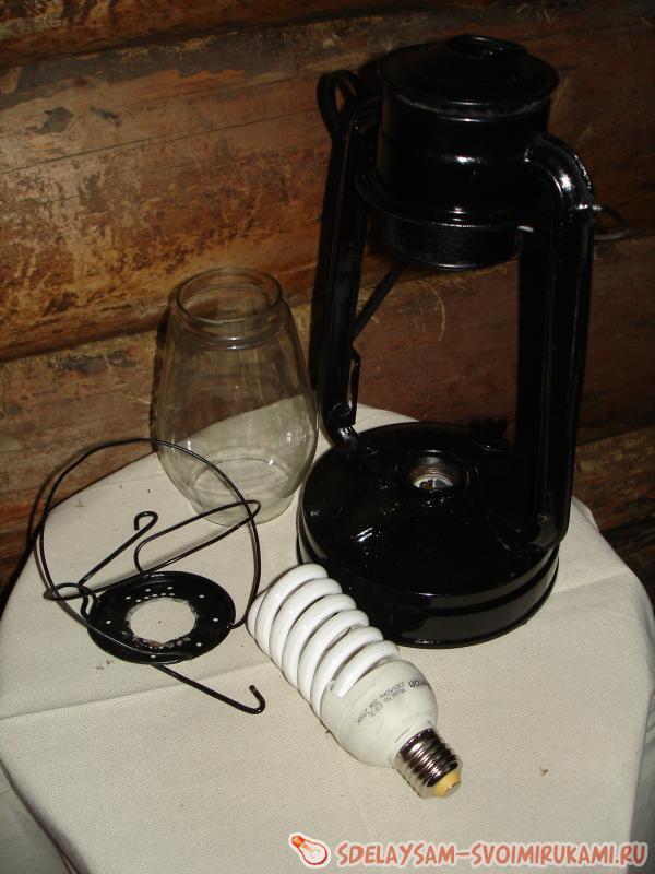 Сделать керосиновую лампу своими руками 370