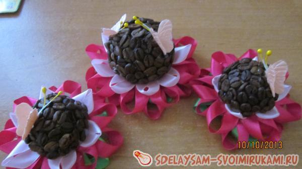 три цветка готовы