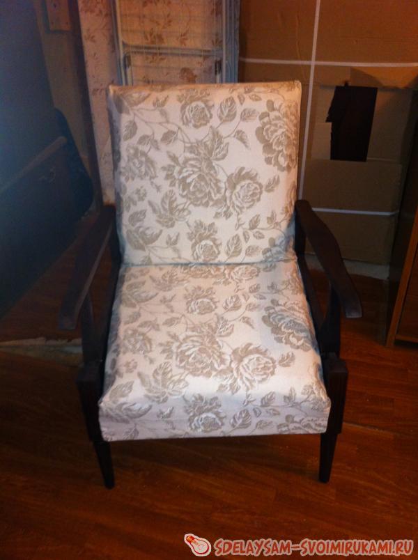 """Реставрация кресла """" Сделай сам своими руками - поделки и мастер-классы"""
