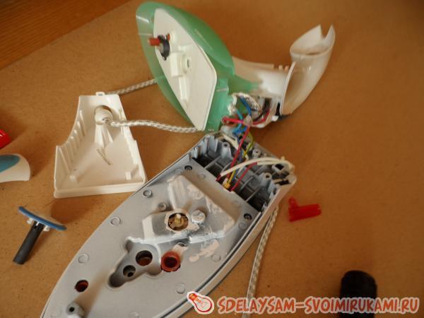 Ремонт утюга polaris своими руками