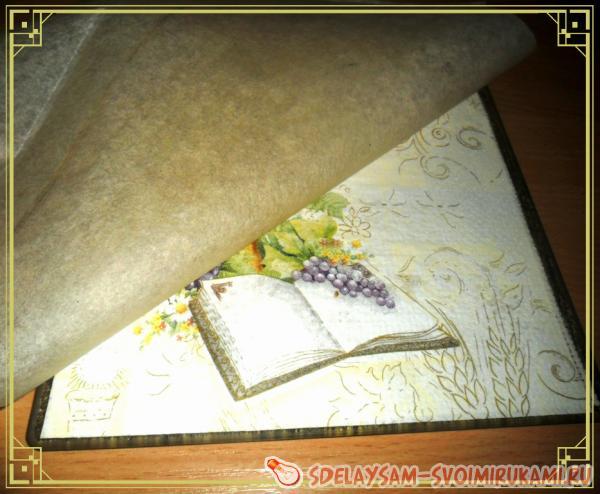 Шьем пасхальные салфетки мастер класс инструкция #4