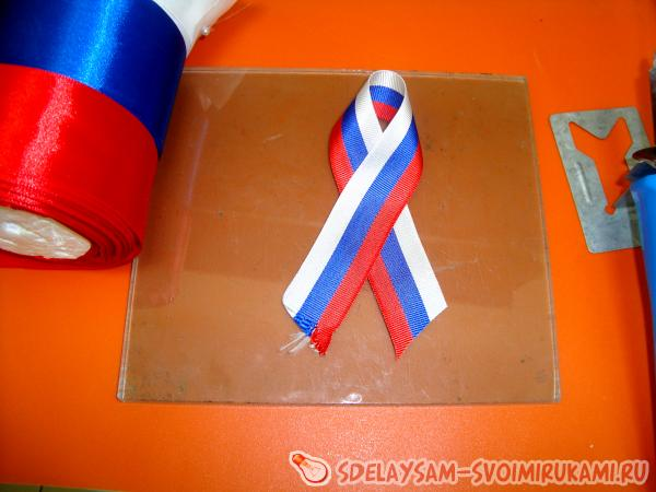 Патриотическая лента ко Дню Победы