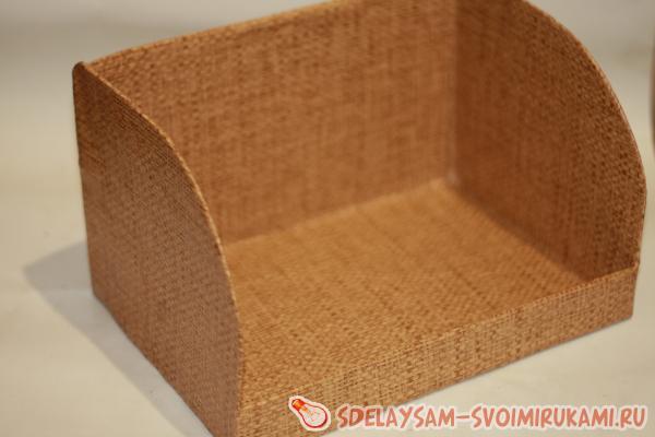Хлебница из бамбуковых салфеток своими руками 84