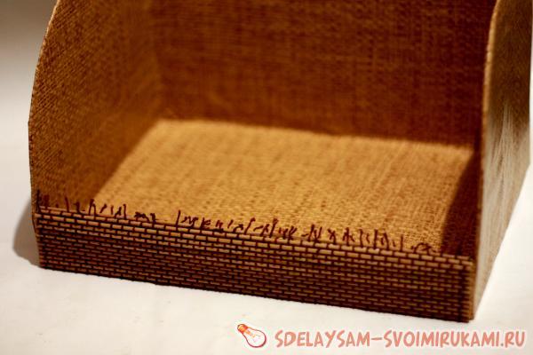Хлебница из бамбуковых салфеток своими руками 94
