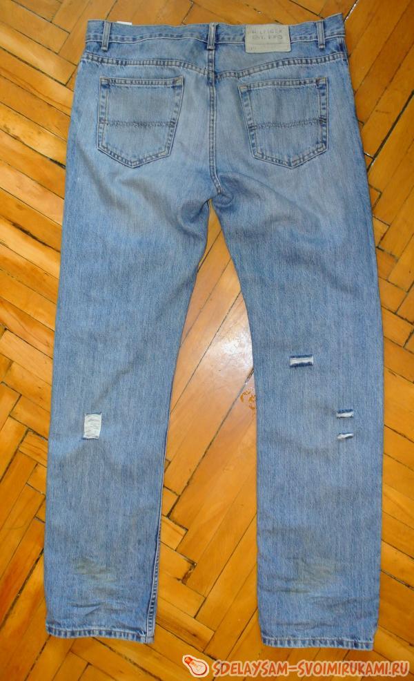 Из джинс капри своими руками 82
