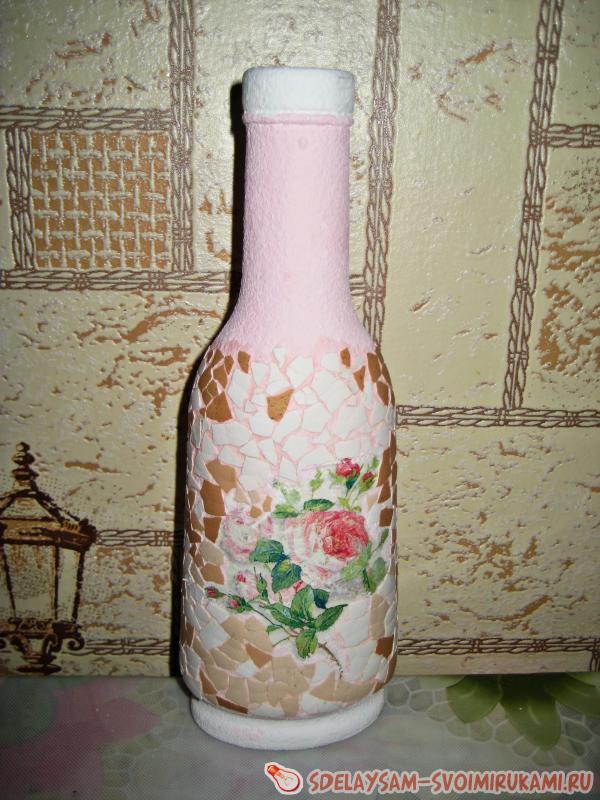 Придаем скорлупе розовый тон