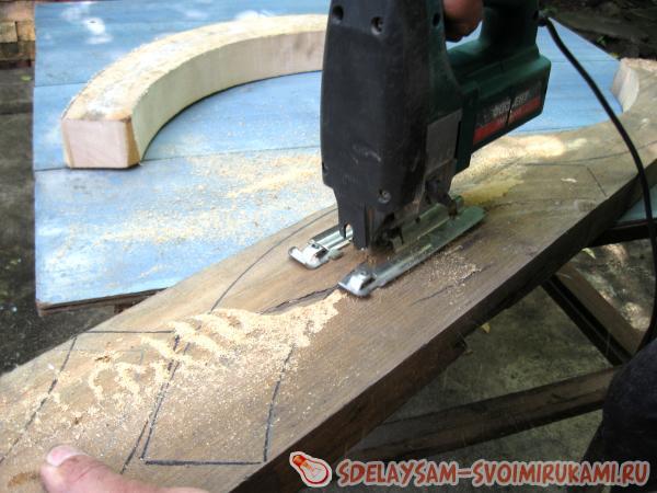 Деревянное колесо своими руками - Строим своими руками