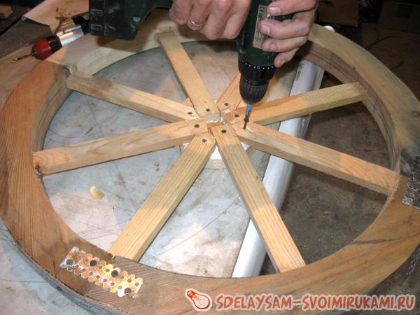 Сделай сам своими руками деревянное колесо