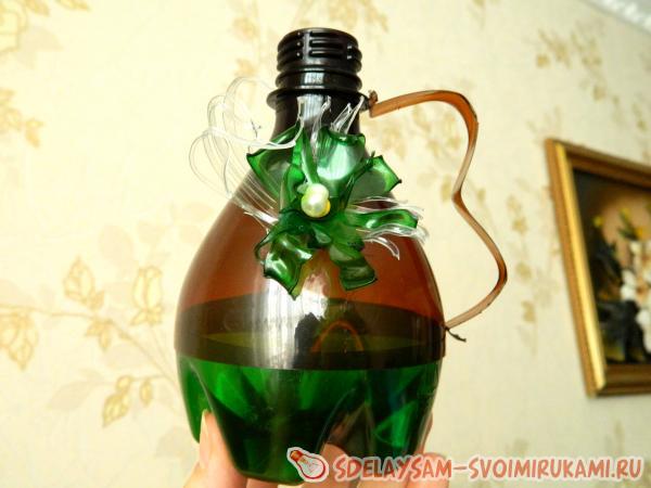Салфетница из пластиковых бутылок своими руками 166