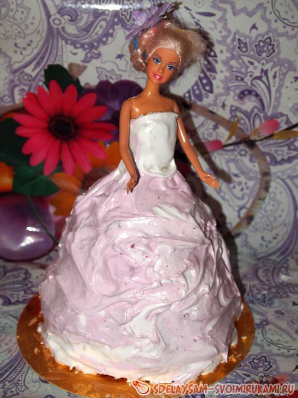Торт для кукол своими руками фото