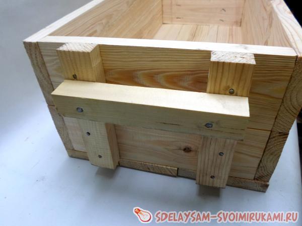 Ящик из досок как сделать 150