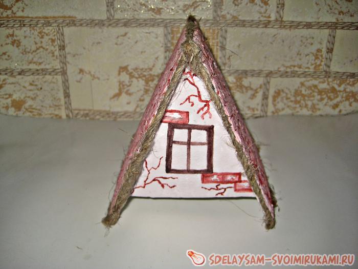 Как сделать своими руками кукольный домик для игрушек 86