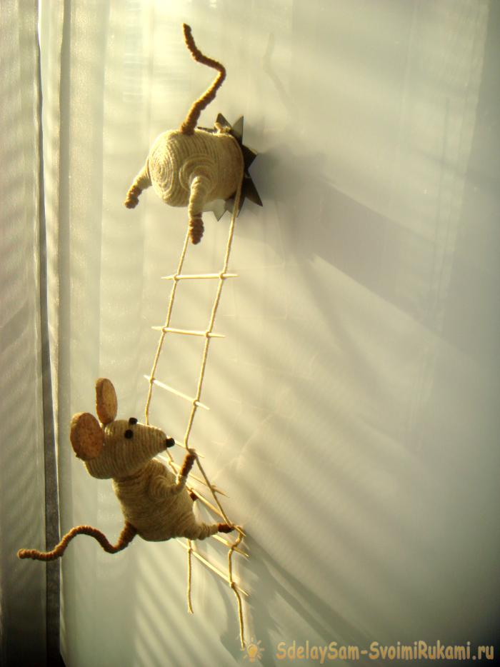 Мышки-воришки Мастер-класс своими руками