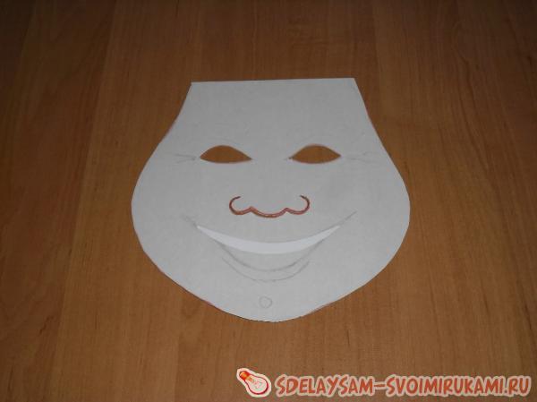Как своими руками сделать белую маску