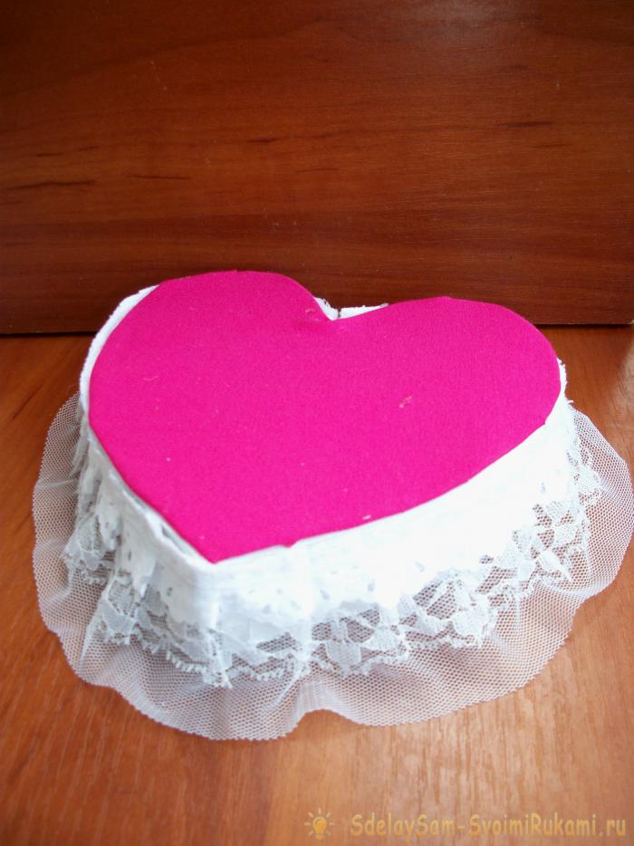 Торт сердцем своими руками фото 41