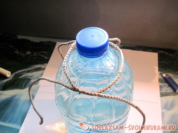 Как из пластиковой бутылки сделать ручки 931
