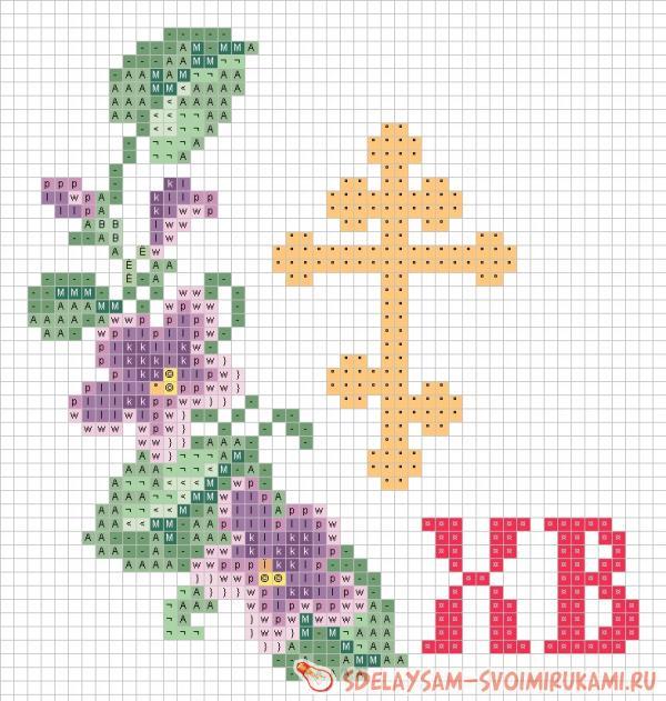 Схемы вышивки крестом на сайте крест 432