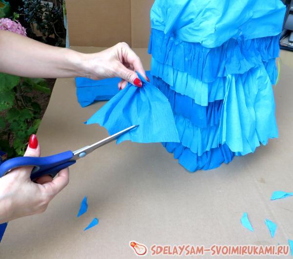 Как легко сделать пиньяту своими руками