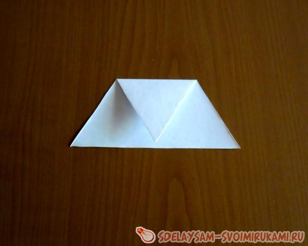 Как из бумаги сделать маленький мячик