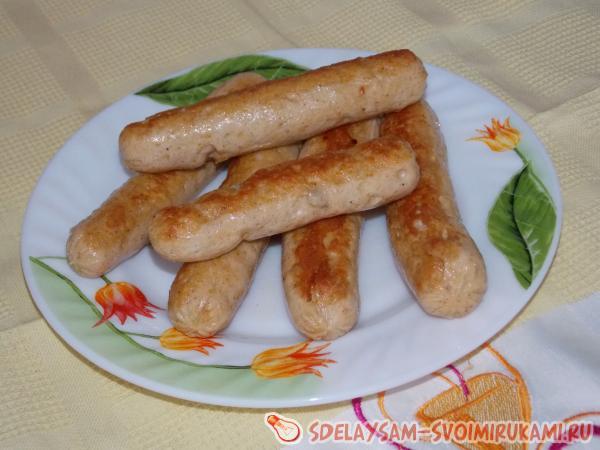 сосиски рецепт в домашних условиях