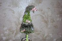 Изготовление вязанной елки