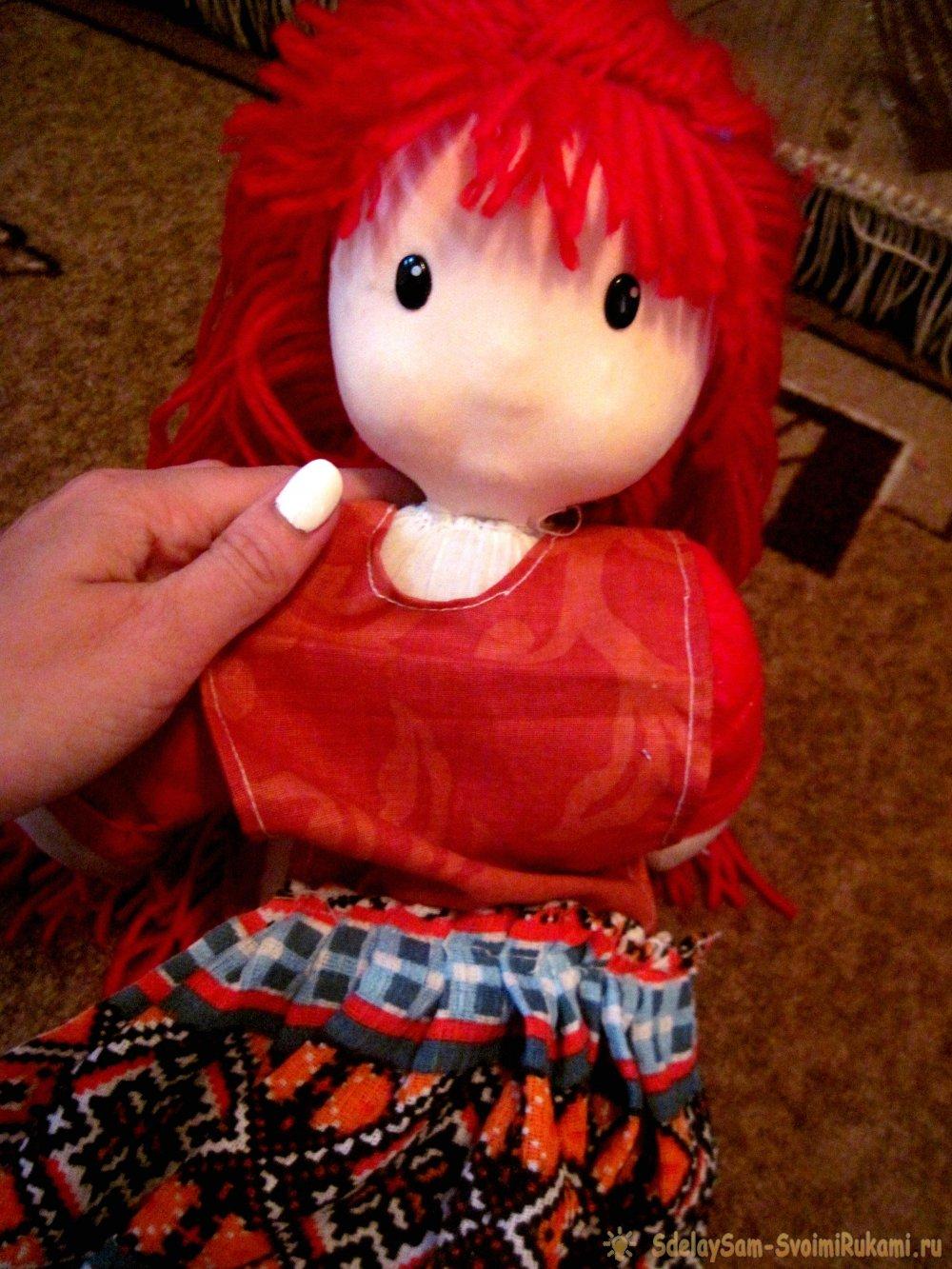 Как сделать кукла-полотенце