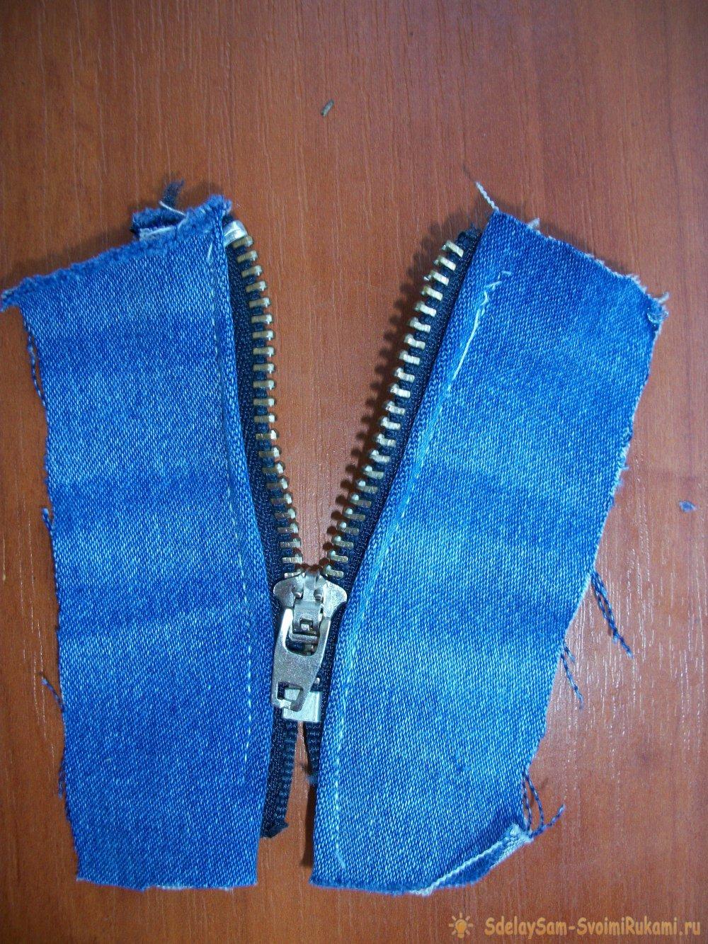 Как сделать жилетку из старых джинсов своими руками? 93