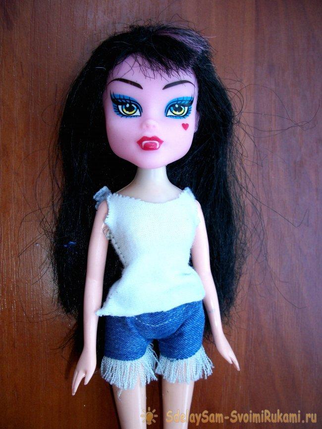Одежда из ткани своими руками на куклу